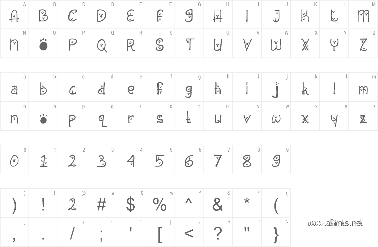 Font Animal Insting preview