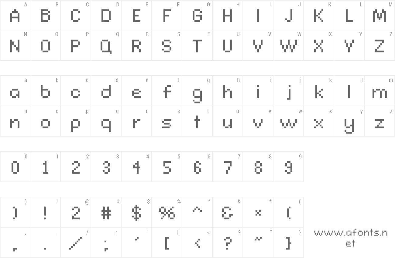 Font Connection II preview