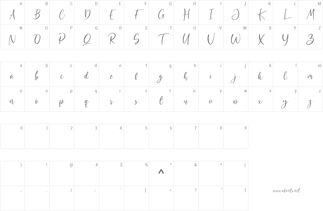 Font Bombinate preview