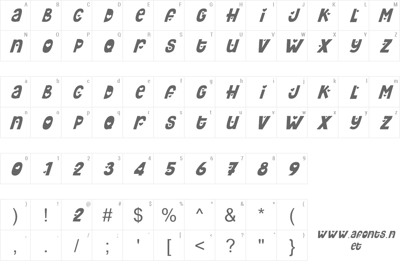 Font Hey Elsie preview