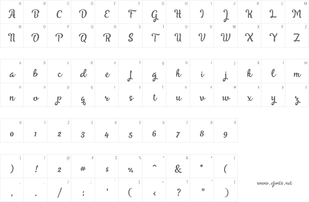 Font Skyoval preview