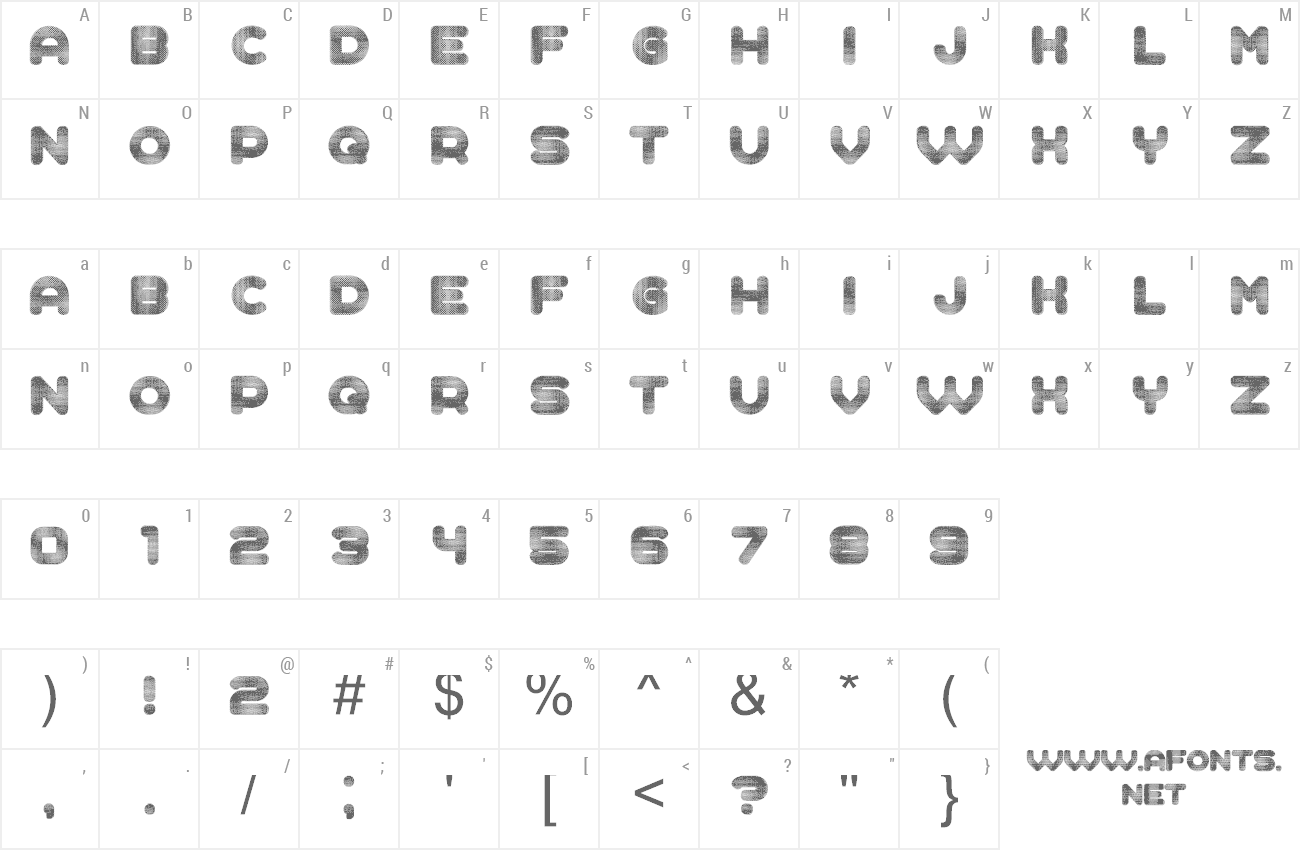 Font Complained preview