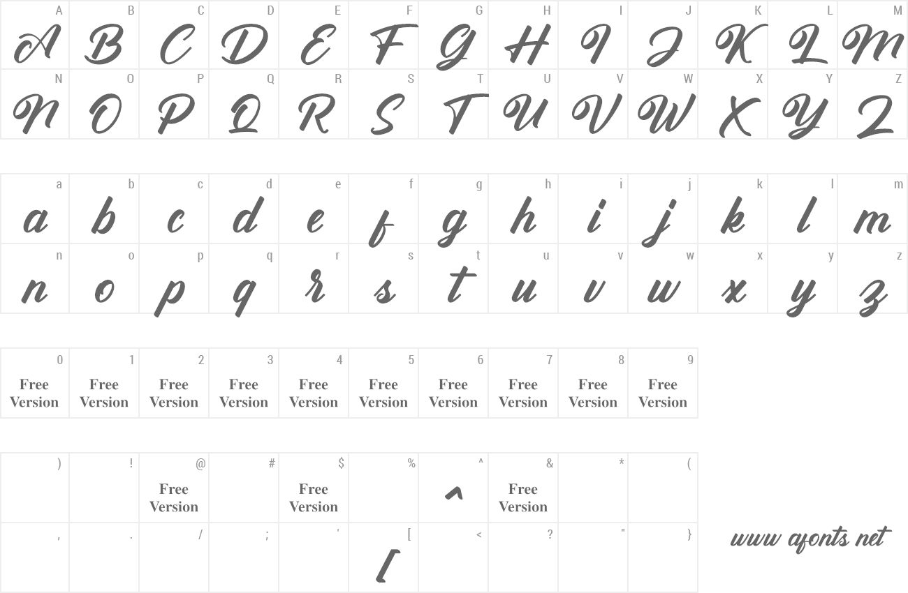 Font Antonellie Calligraphy preview
