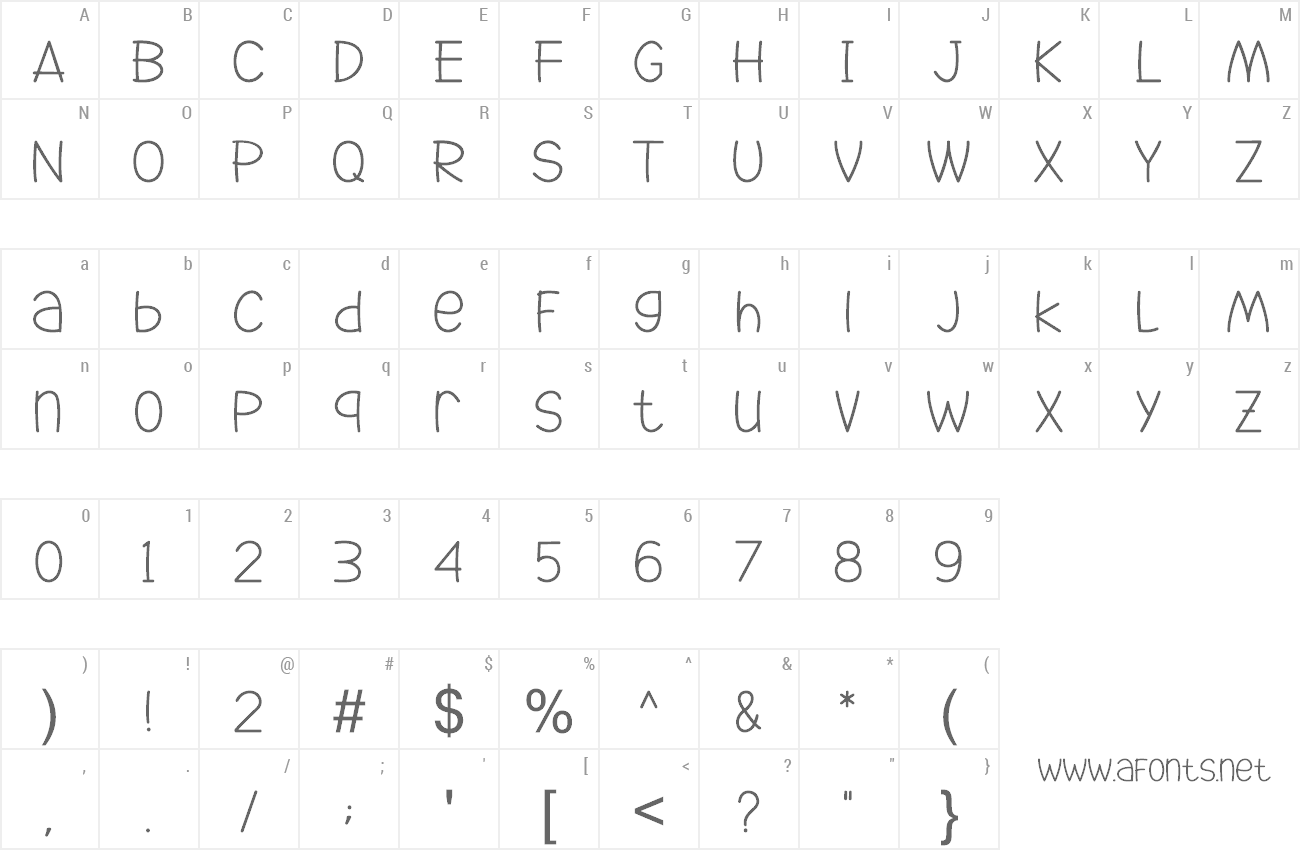 Font Go Jackie preview