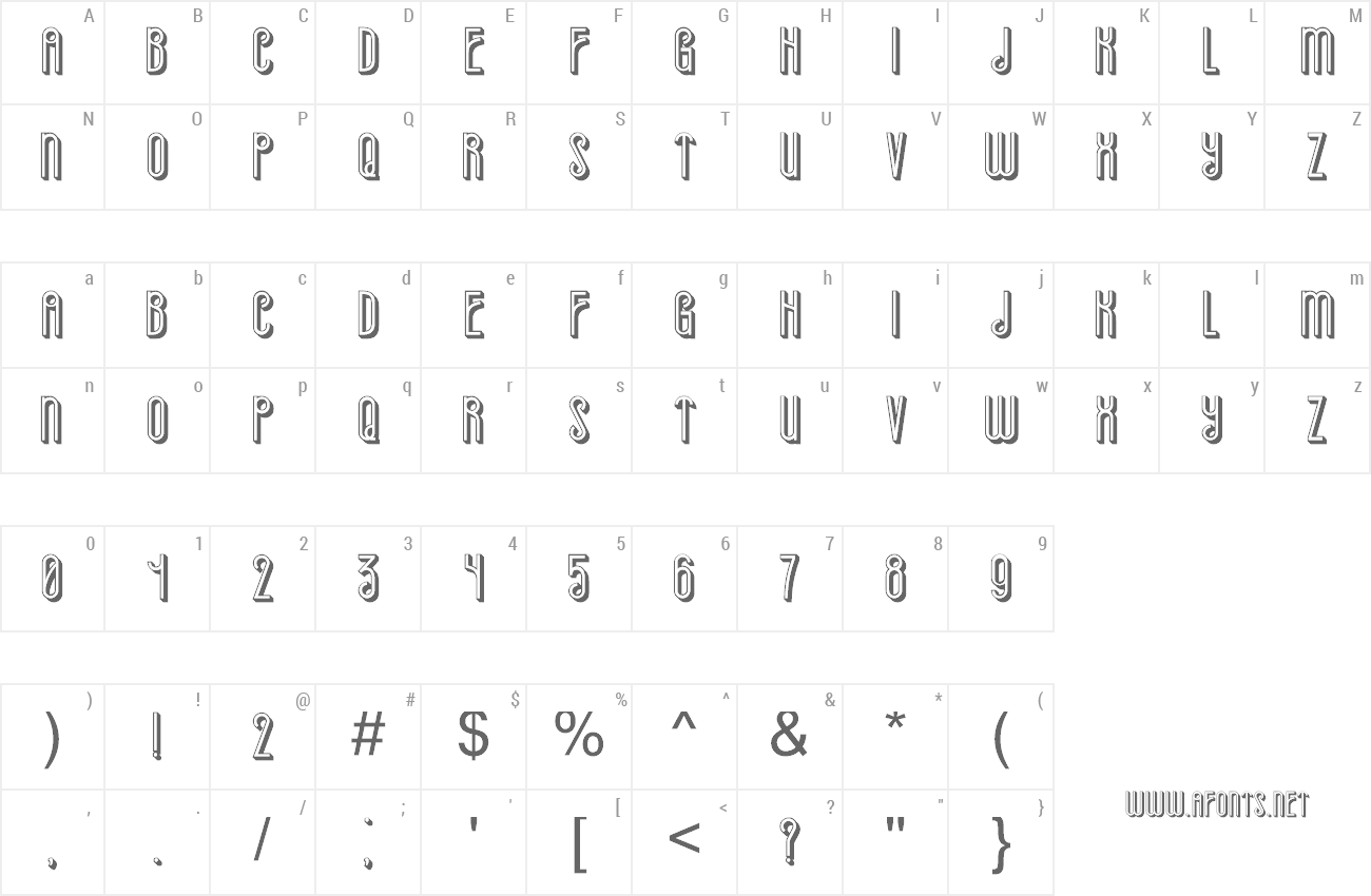 Font Already preview