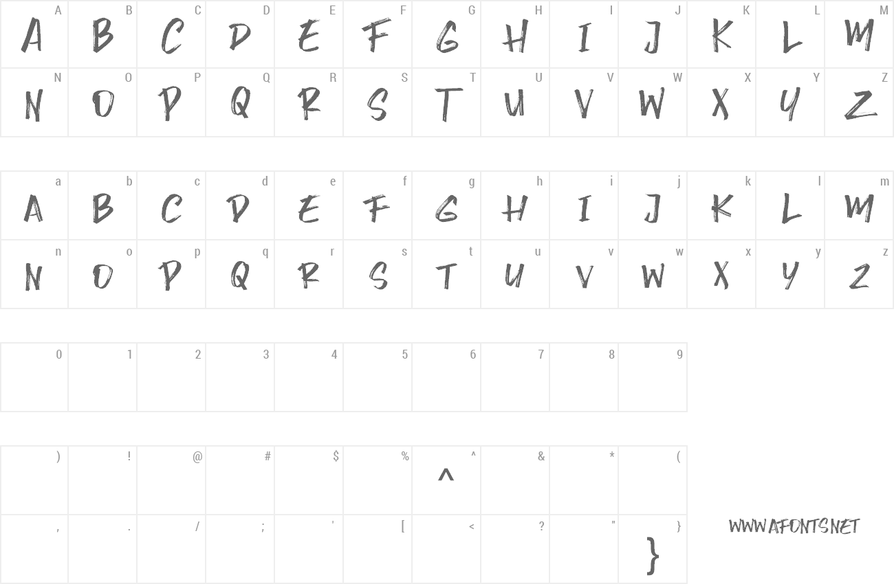 Font Wrong Hunt preview