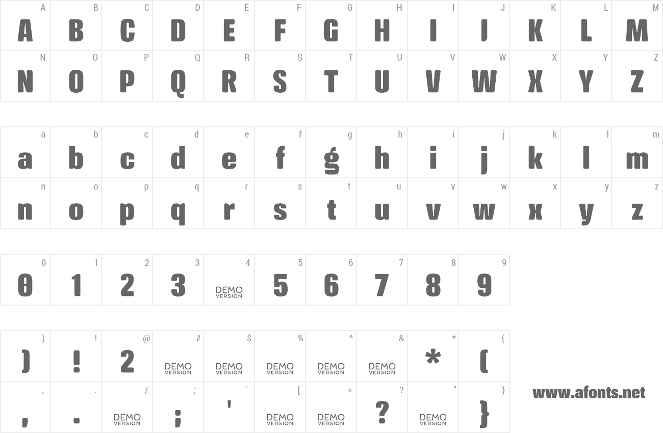 Font Crossfit preview