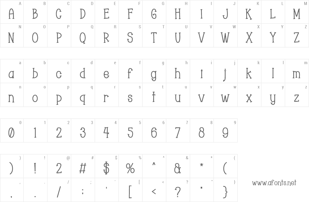 Bold Hollow Fonts