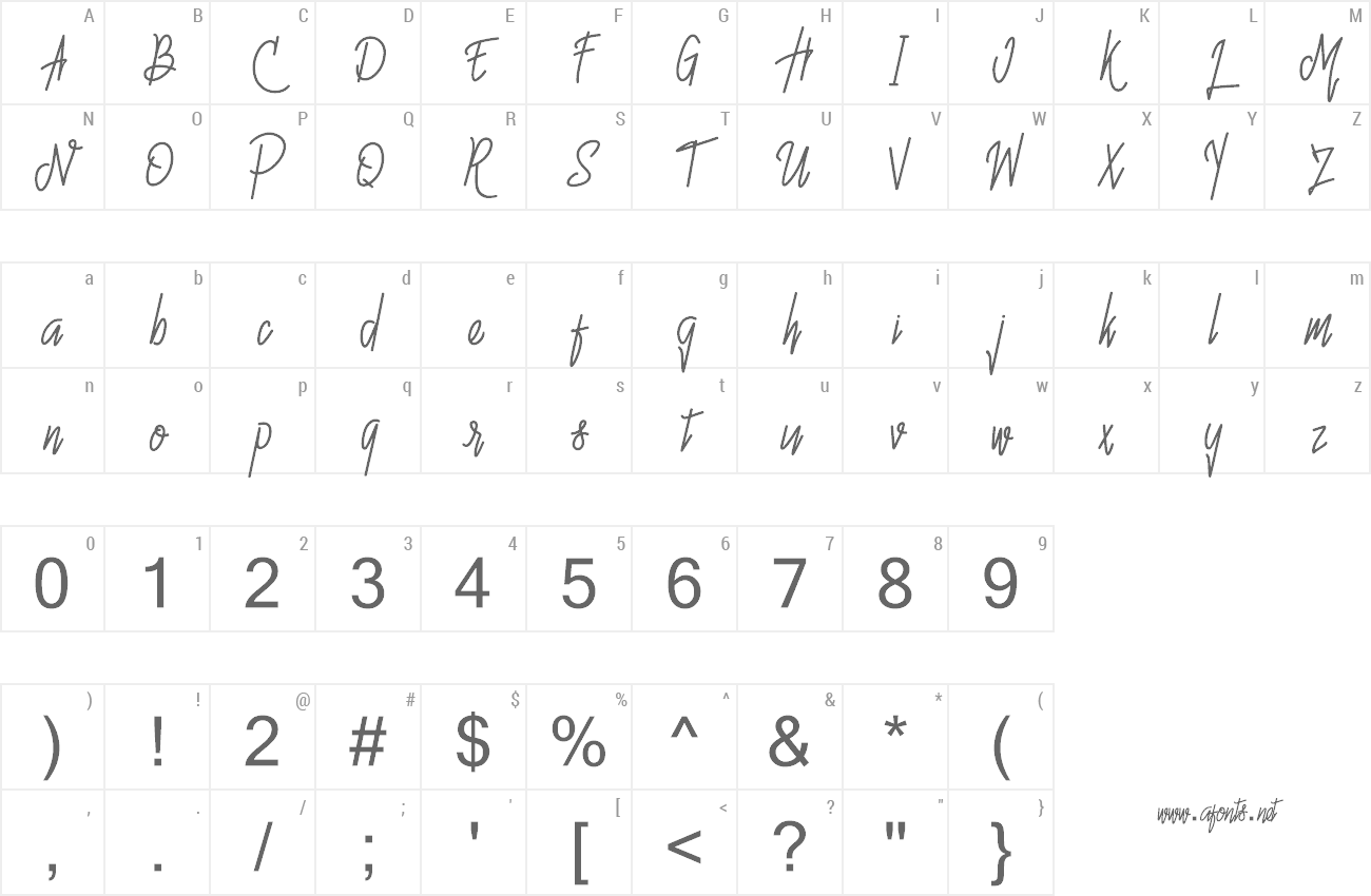 Free download Hello Avelline Font