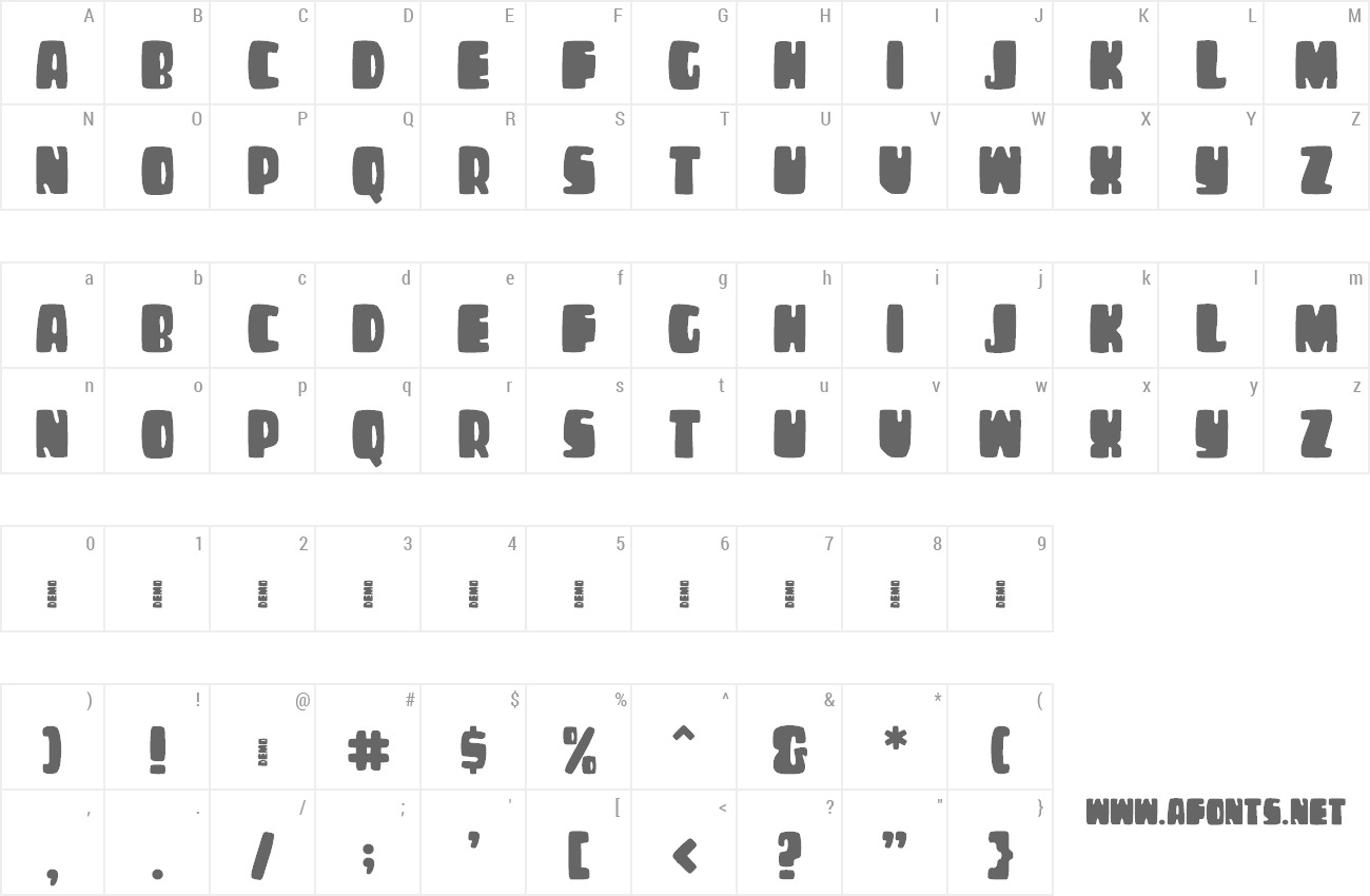 Font Cheese Burga preview