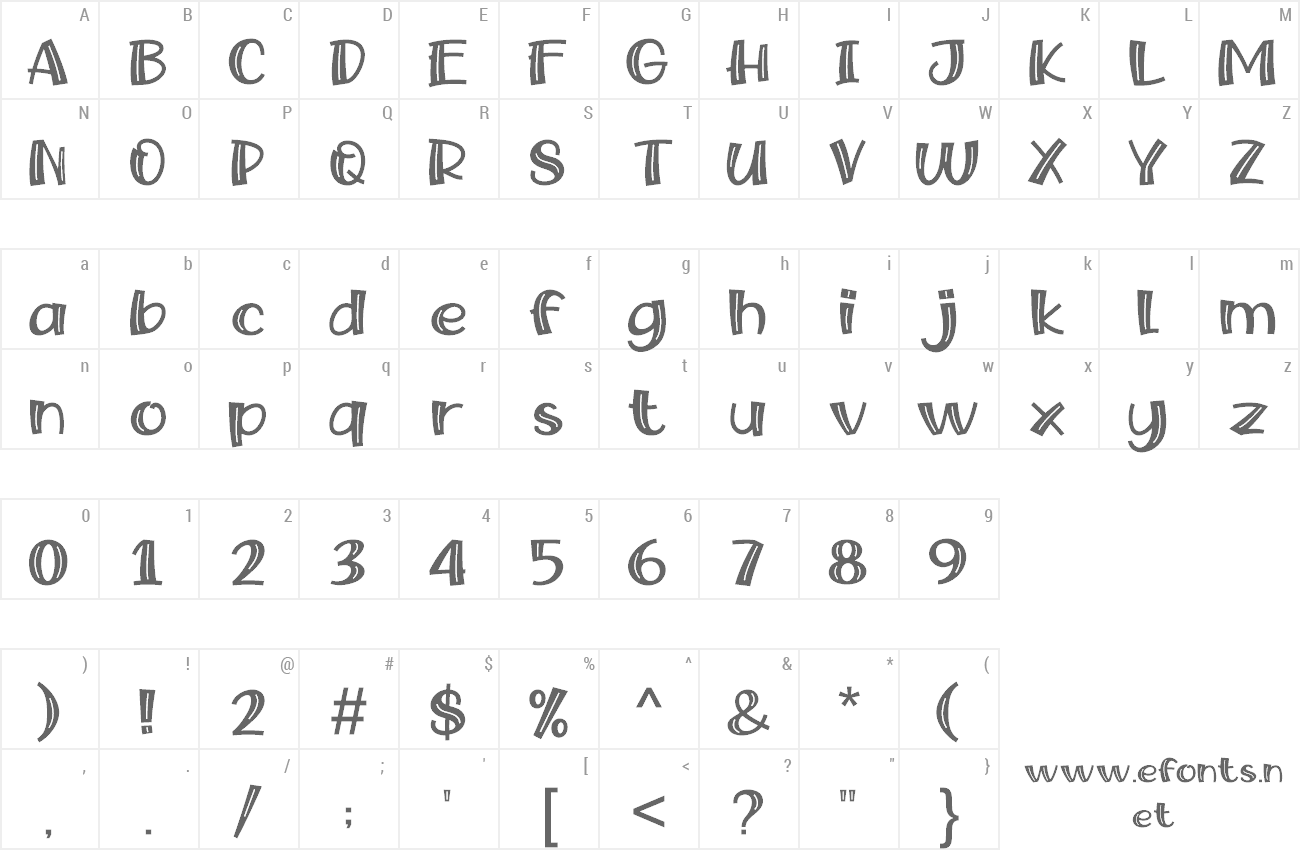 Font Snow Fairy preview