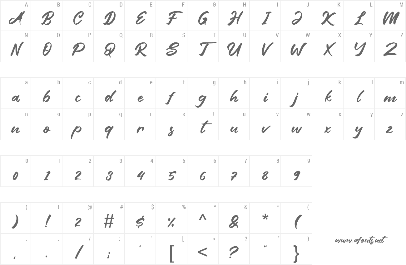Font Friend Write preview